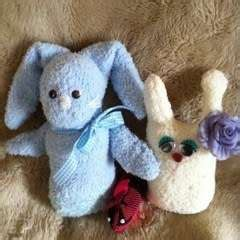 sock bunny podcast bunny with carrot 183 extract from knitted rabbits by val 183 how to make rabbit plushie