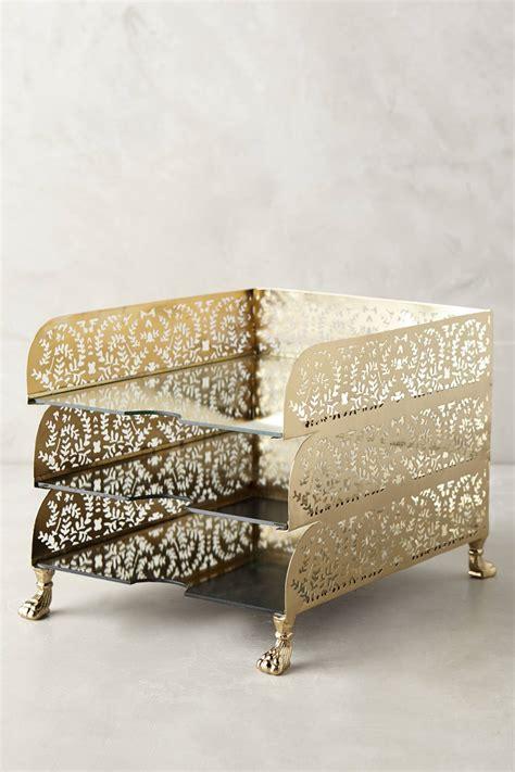 gold desk accessories set anthropologie s new arrivals desk accessories desk