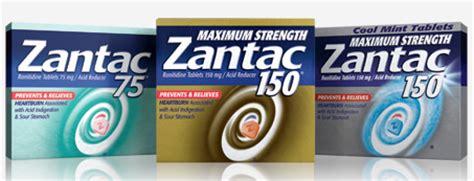 Ranitidine Shelf by 5 00 Zantac Coupon 99 At Rite Aid