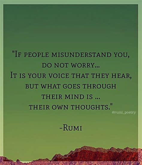 rumi quotes in best 25 misunderstanding quotes ideas on