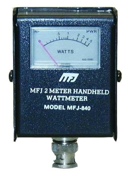 Power Watt Meter Rf 03 50 Watt Frekuensi Counter mfj 840 wattmeter available here radioworld