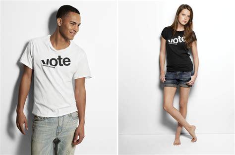 Kaos Tshirt Coilart Slc american eagle vote t shirt hint creative creative agency design studio