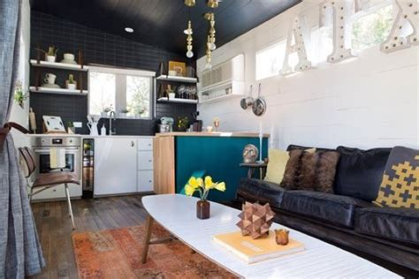 400 square foot tiny house on wheels house plan and 400 sq ft bohemian style small house on wheels