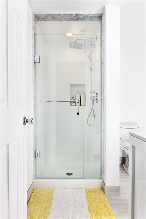 small shower stalls bathroom contemporary with faucet