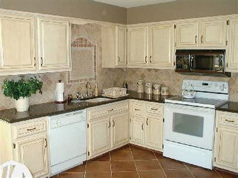 faux finish kitchen cabinets white wooden colored and