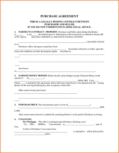 property purchase agreement template fundraiser invitation
