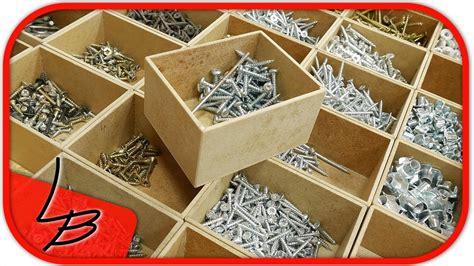 werkstatt basteln kleinteileaufbewahrung selber machen anleitung ordnung