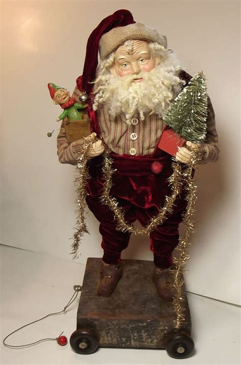 Handcrafted World Santas - handmade santa claus in the box by sweet