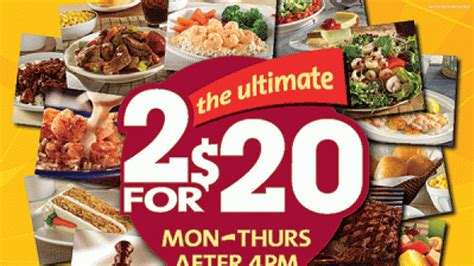 Golden Corral Touts Value With 2 For 20 Deal Nation S Easton Buffet Coupon