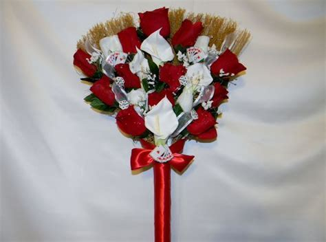 pictures of wedding brooms   Wedding Jumping Broom custom