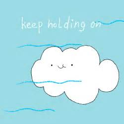 Don t give up little cloud a mood gif