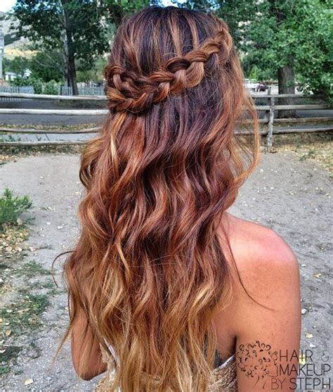 braided hairstyles half up half down half up half down prom hairstyles hairstyle album