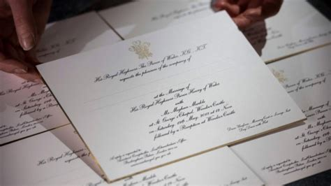 wedding invitations st catharines ontario invitations sent out for prince harry s wedding to meghan markle ctv news