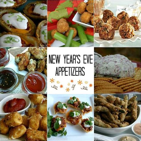 new year s eve appetizers appetizer recipes and new year