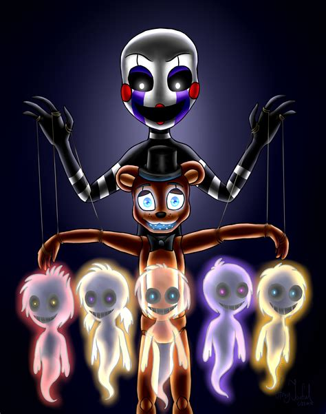 imagenes terrorificas de fnaf another puppet five nights at freddy s by artyjoyful on