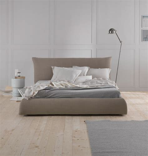 Pillow Bed Frame Polsterbett Quot Pillow Quot 180 Cm Graubeige Www Milanari Bedroom Pinterest Upholstered Bed