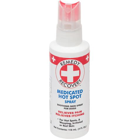 spot for dogs remedy recovery medicated spot spray for dogs petco