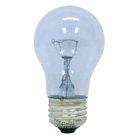 ceiling fans with regular light bulbs ge reveal 40 watt incandescent a15 ceiling fan clear light
