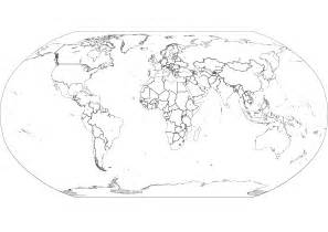 world outline map with country names best photos of world map outline with countries blank