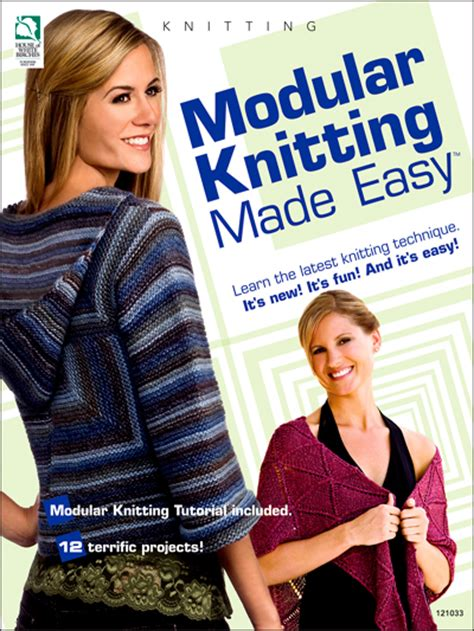knitting made easy knitting learn to patterns modular knitting made easy
