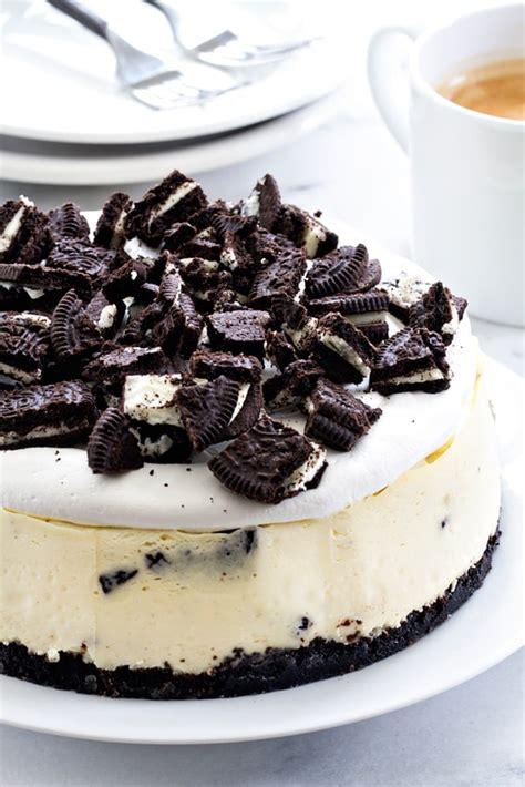 Oreo Cheese Cake instant pot oreo cheesecake my baking addiction