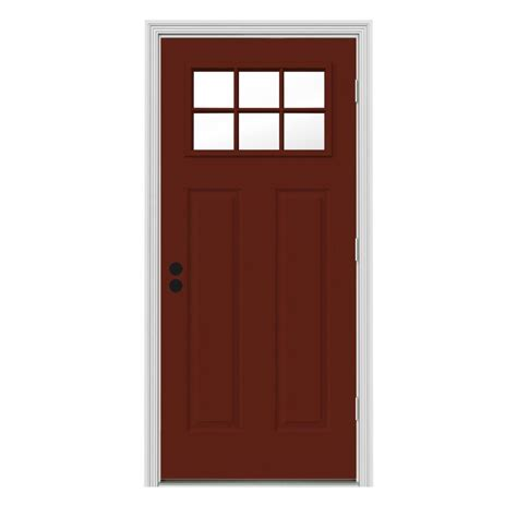 home depot paint for metal doors masonite 32 in x 80 in mini blind painted steel prehung