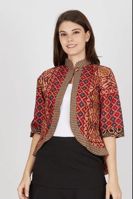 Blazer Batik 21 model blazer batik paling keren dan modis fashion