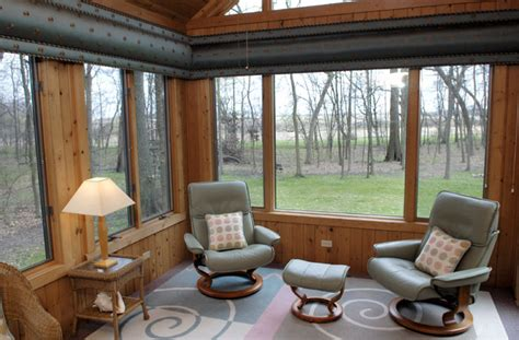 sunroom contemporary porch chicago by beyond
