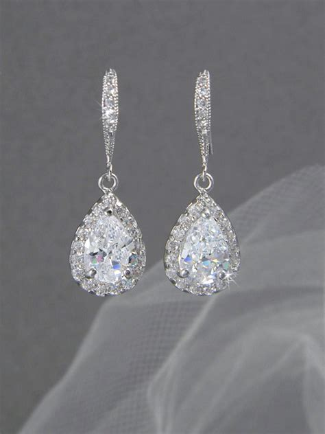 braut ohrringe tropfen wedding earrings drop new deal alert bridal earrings drop