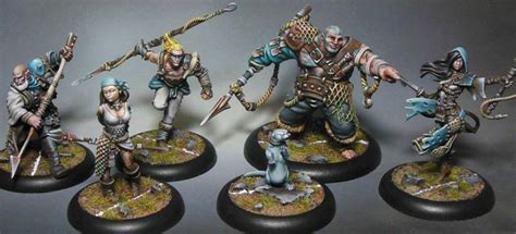 the miniature painting guild guild ball s fishermen get a bit of colour