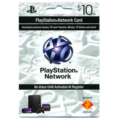 Playstation 3 Network Gift Card - psn 10 sony playstation network 10 gift card ps3 psn psp code emailed