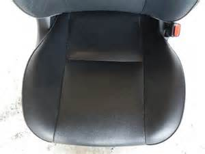 lexus is300 front seat leather black passenger right sedan