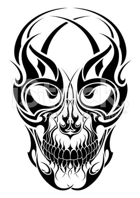 40 Tribal Skull Tattoos Ideas Skull Tribal Tattoos Designs