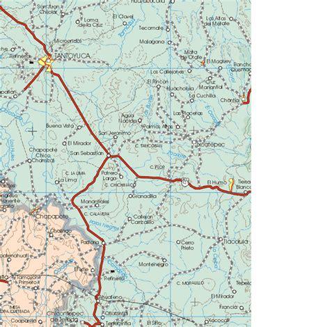 hidalgo map hidalgo mexico map 4 map of hidalgo mexico 4 mapa