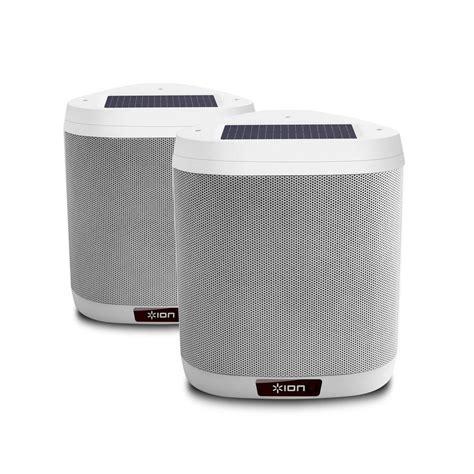 ion audio keystone pair mountable outdoor bluetooth