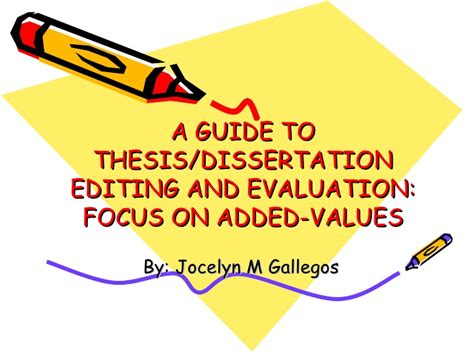 dissertation editing a guide to thesis dissertation editing 1 2 3 1