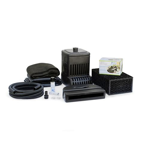 get the deluxe diy waterfall pond kit at walmart com save aquascape dyi 3 pondless disappearing waterfall complete