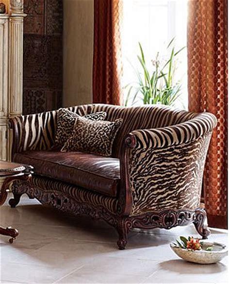 tiger print sofa love it or hate it tiger stripe sofa popsugar home