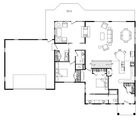 kitchen family room floor plans 24 x 28 open concept floor plan kitchen living room log
