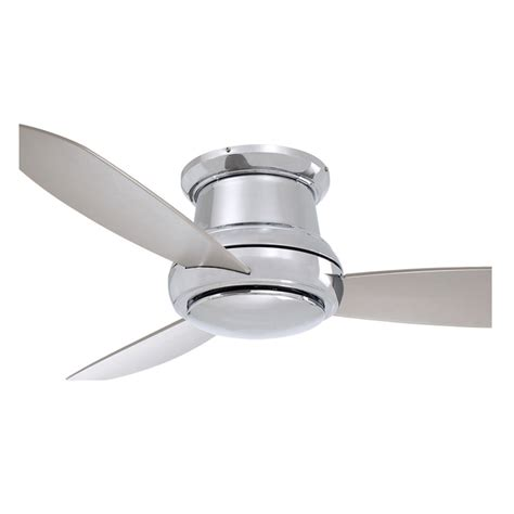 concept ii ceiling fan minka aire 52 inch polished nickel concept ii ceiling fan