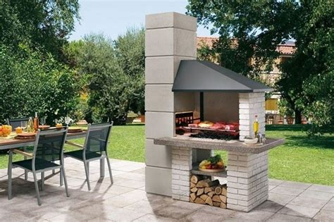 barbecue per terrazzo come montare il barbecue in muratura arredo giardino