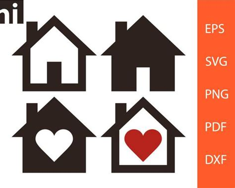 house svg home svg house vector home vector house etsy