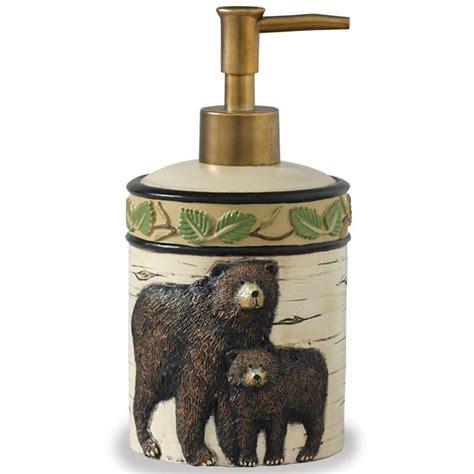 bear bathroom accessories black bear bath accessories