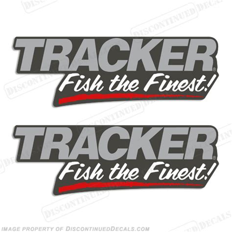 bass boat decals stickers tracker boats quot fish the finest quot decals