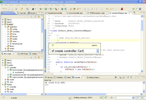 zend framework 2 disable layout zend studio the most complete ide for php development