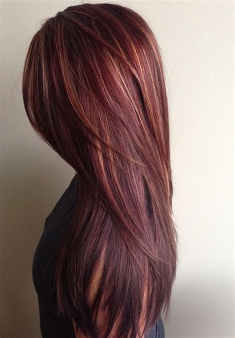 different mahogany hair color styles mahogany hair color with caramel highlights hair styles