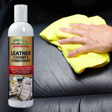 Sofa Leather Cleaner And Conditioner 38 Leather Cleaner Conditioner Best Treatment For Automotive Upholstery Interiors Car