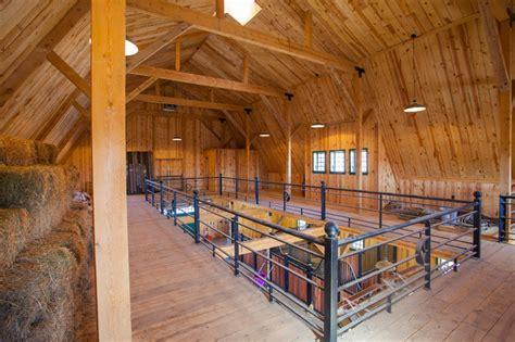 loft living in a nebraska barn home traditional living gambrel horse barn in nebraska traditional shed