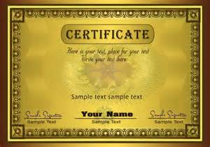 Certificate Template Photoshop by Gorgeous Diploma Certificate Template Vector Material