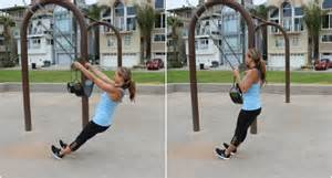 swing row a full body playground workout